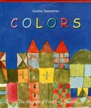 The Colors book available for purchase at the MFA-H store.