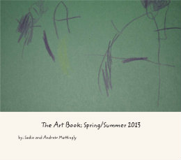 "The finished product entitled, ""The Art Book: Spring/Summer 2013"""